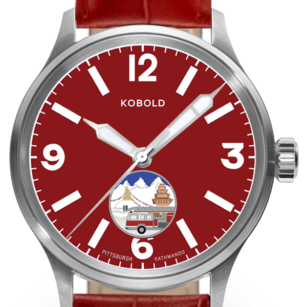 Official expedition kobold intrepid watch