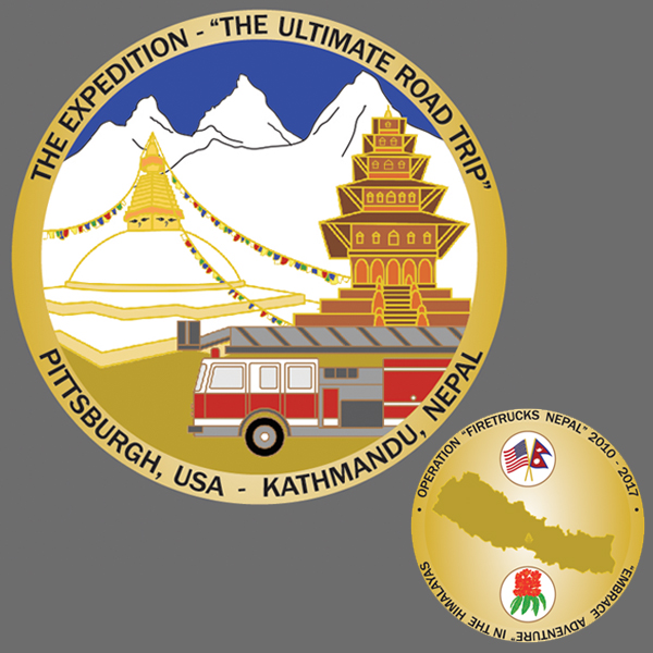 Official expedition challenge coin